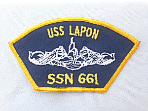 Uss Lapon Ssn 661 Patch