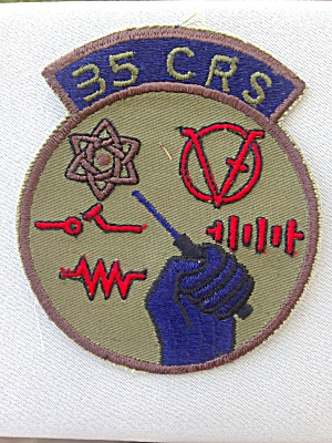 35 Crs Military Patch