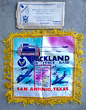 Lackland AFB Pillow Case Cover San Antonio  (Image1)