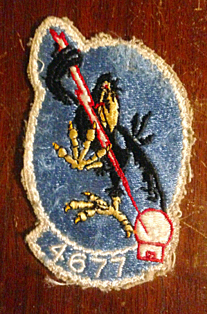 4677th Defense Systems Evaluation Squad Patch