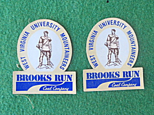 West Virginia Brooks Run Coal Mining Stickers (Image1)