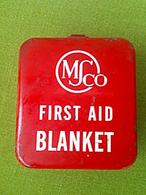 Ms Co. Wall Mount Display First Aid Blanket
