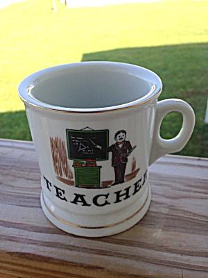 TEACHER Occupational Shaving Mug (Image1)