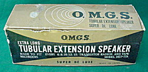 O.M.G.S. Tubular Ext. speaker w/Box (Image1)