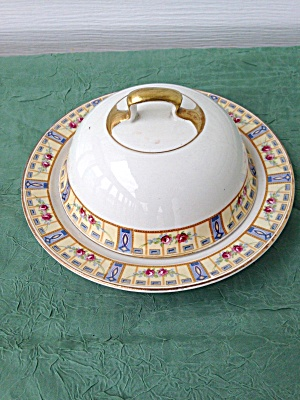 Meakin England Round Butter Dish (Image1)