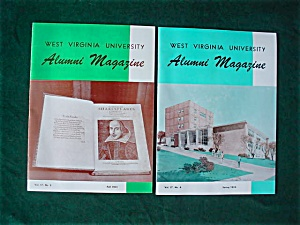 50s West Virginia University Alumni Magazines (Image1)