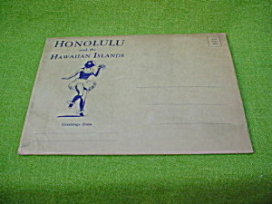 Honolulu Souvenir Book w/Org. Mailer & PC's (Image1)