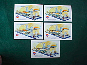 Chicago's World's Fair Gulf Postcards (Image1)