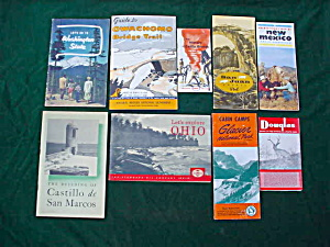 Lot of Various Old Travel Pamphlets/Brochures (Image1)