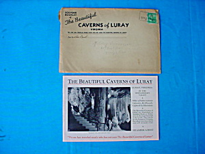 Early Souvenir Booklet Caverns of Luray, Va (Image1)