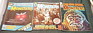 3 Issues Famous Monsters Filmland 132 141 144 (Image1)