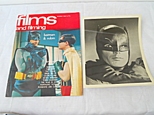 1966 Films and Filming Batman & Robin  (Image1)