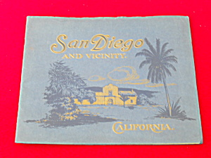 San Diego And Vicinity 1915