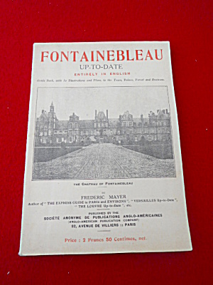 Fontainbleau Travel Guide Book Illustrated  (Image1)