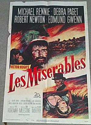 Les Miserables Michael Renne Debra Paget (Image1)