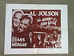 Al Jolson Madge Evans Heart of N.Y.   (Image1)