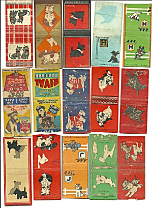 Old Dog Dog Food Matchbook Cover Collection (Image1)