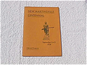 New Martinsville, WV Centennial Program 1938 (Image1)