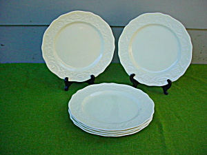 6 Dinner Plates Adams Antique Steubenville (Image1)