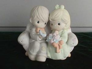 "Precious Moment Figure--""Say I Do"" (Image1)"