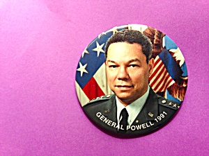1991 Colin Powell Pin  (Image1)