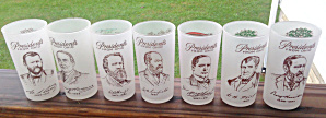 Presidents from State of Ohio Glasses 1950's? (Image1)