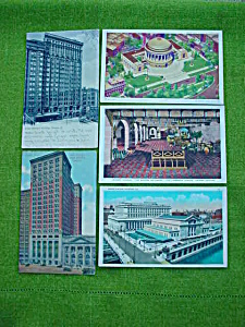 12 Old Chicago, Illinois Postcards