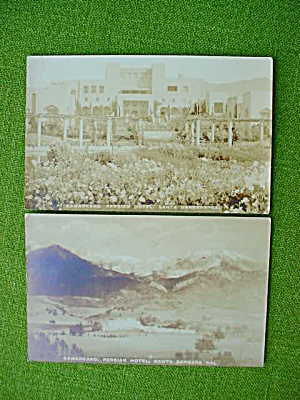 Santa Barbara, Ca Postcard Collection
