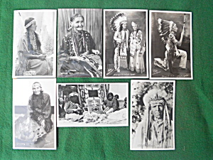 Native American Indian Photo Postcards  (Image1)