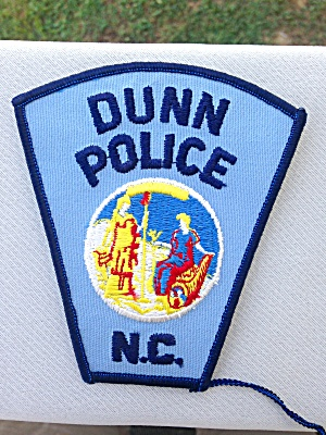 Dunn Police Patch North Carolina