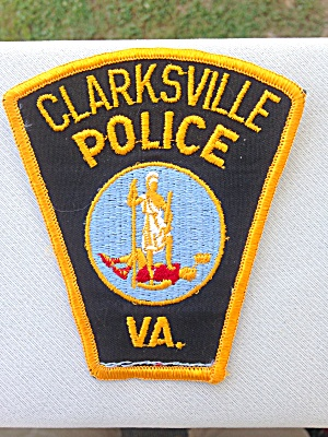 Clarksville Police Virginia Patch