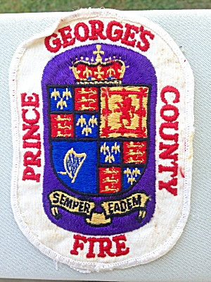 Prince Georges County Fire Patch