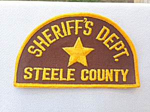 Steele County Sheriff's Dept. Patch (Image1)