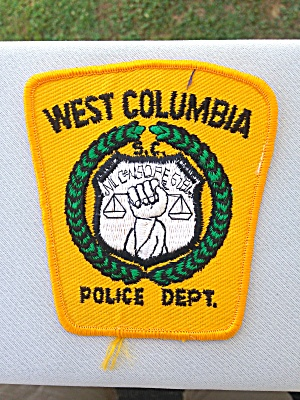 West Columbia South Carolina Police Patch