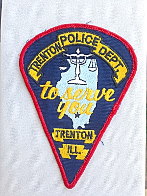 Trenton, Illinois Police Patch (Image1)