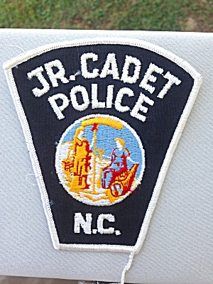 Jr. Cadet Police North Carolina Patch