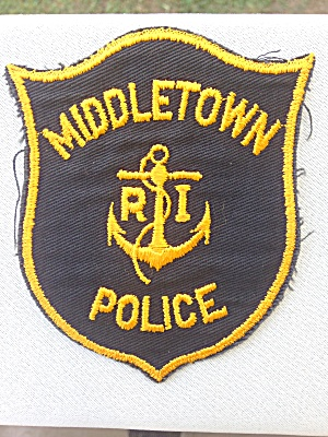 Middletown Rhode Island Police Patch