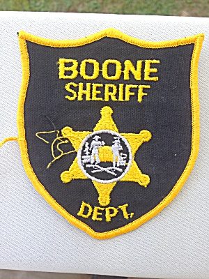 Boone Sheriff Dept. Patch West Virginia?