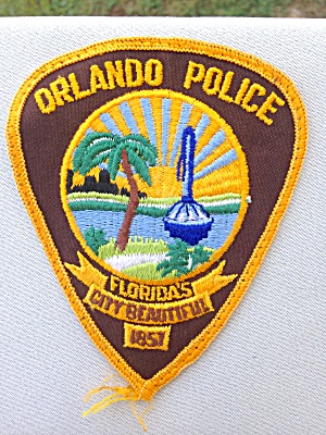 Orlando Florida Police Patch