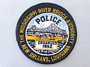 Mississippi River Bridge Police New Orleans