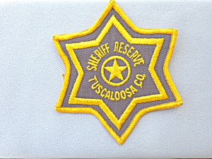 Sheriff Reserve Tuscaloosa County Patch