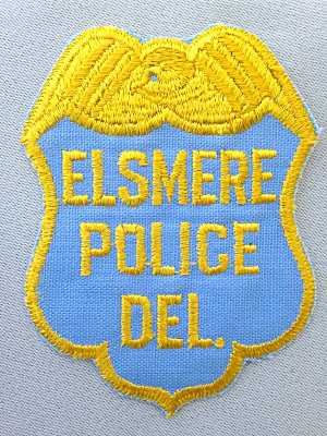Elsmere Police Deleware Patch