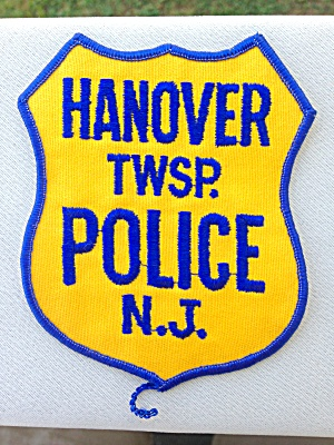 Hanover Township New Jersery Police Patch