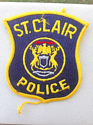 St. Clair Michigan? Police Patch