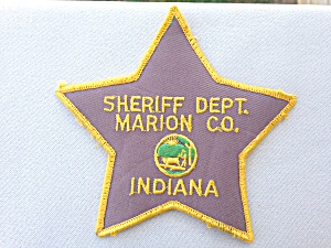 Marion Co. Indiana Sheriff Dept Patch (Image1)