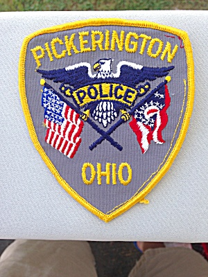 Pickerington Ohio Police Patch