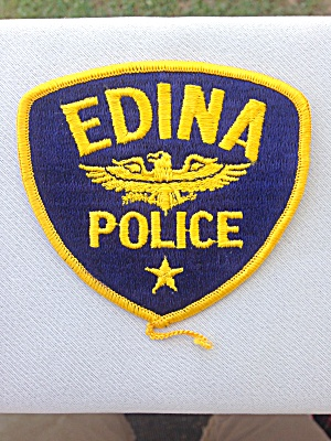 Edina Police Patch