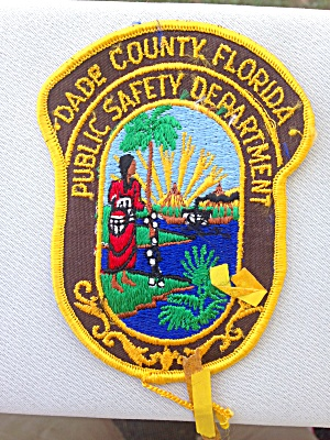 Dade Co. Florida Public Safety Dept. Patch