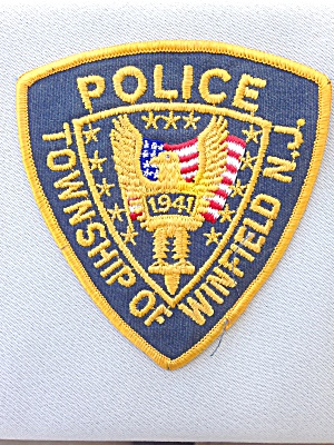 Winfield New Jersey Police Patch