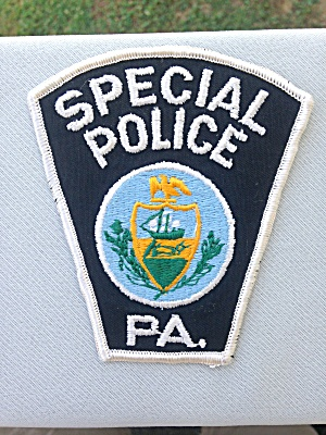 Special Police Patch Pennsylvania (Image1)